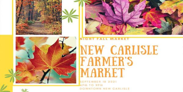 Fall Farmers Market - Night Market @ Main Street, New Carlisle | New Carlisle | Ohio | United States